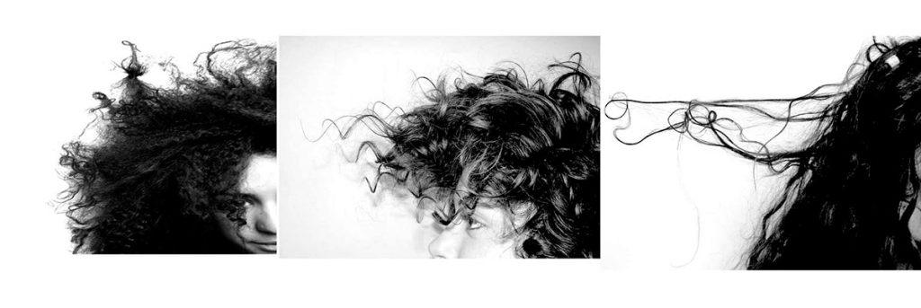 """photographies expérimentations cheveux """"L'analogie entre l'homme et l'arbre"""""""