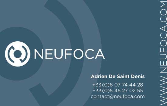 carte de visite recto de Neufcoa