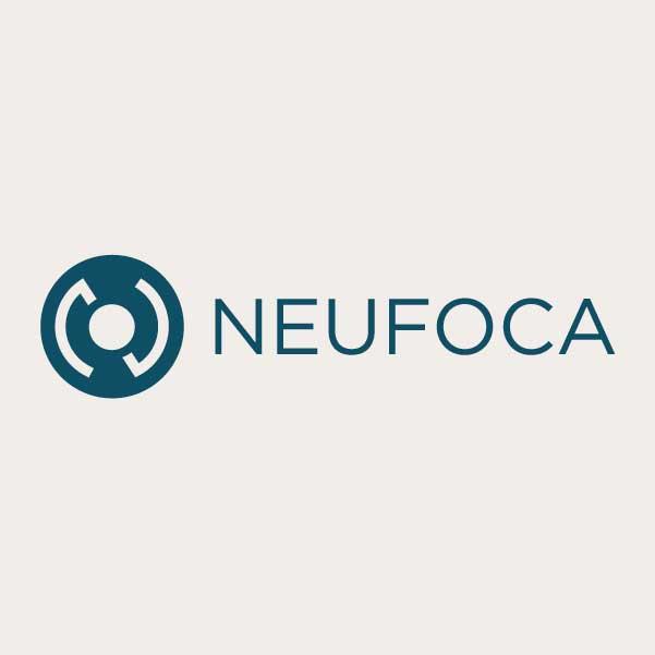 logo Neufoca horizontal picto négatif
