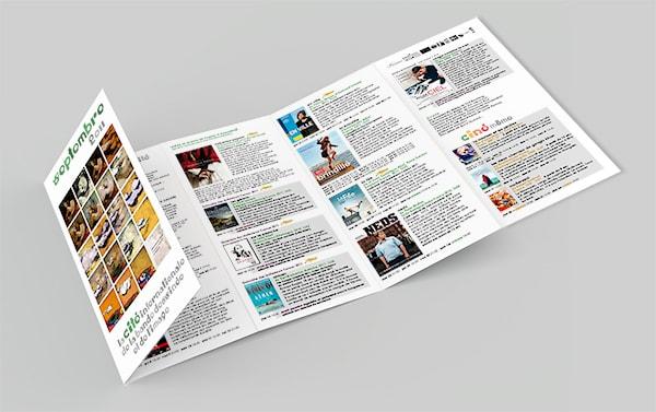 mockup la Cité internationale de la bande dessinée et de l'image programme mensuel