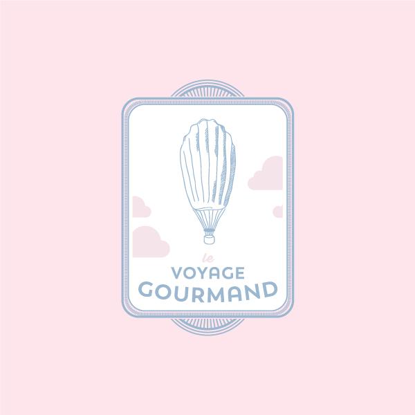 logo salon de thé le voyage gourmand