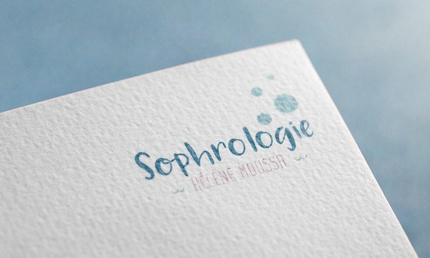 sophrologue Hélène Moussa mockup logo Charente