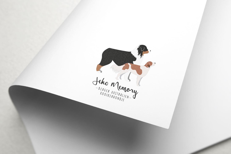 élevage Jeko Memory - mockup - logo - berger australien