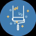 pictogramme - page d'accueil - création