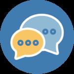 pictogramme - page d'accueil - premier échange