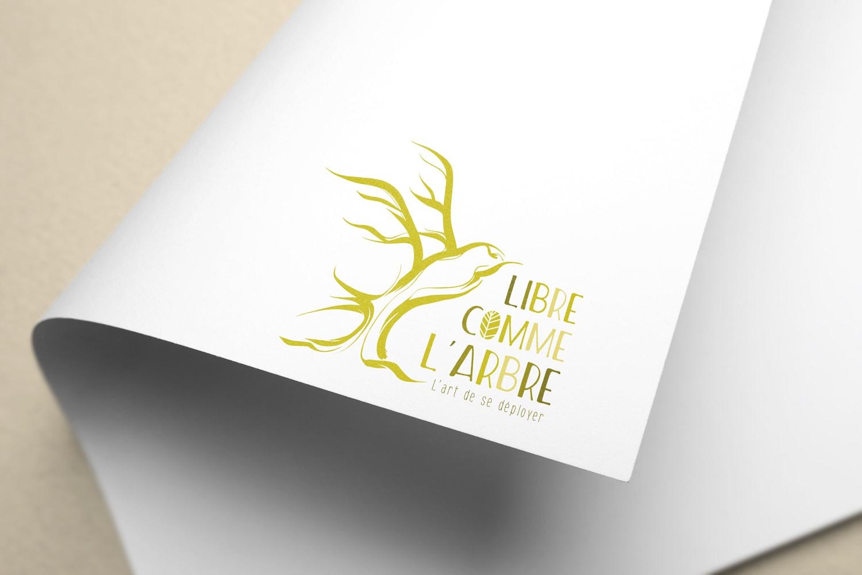 libre comme l'arbre logo